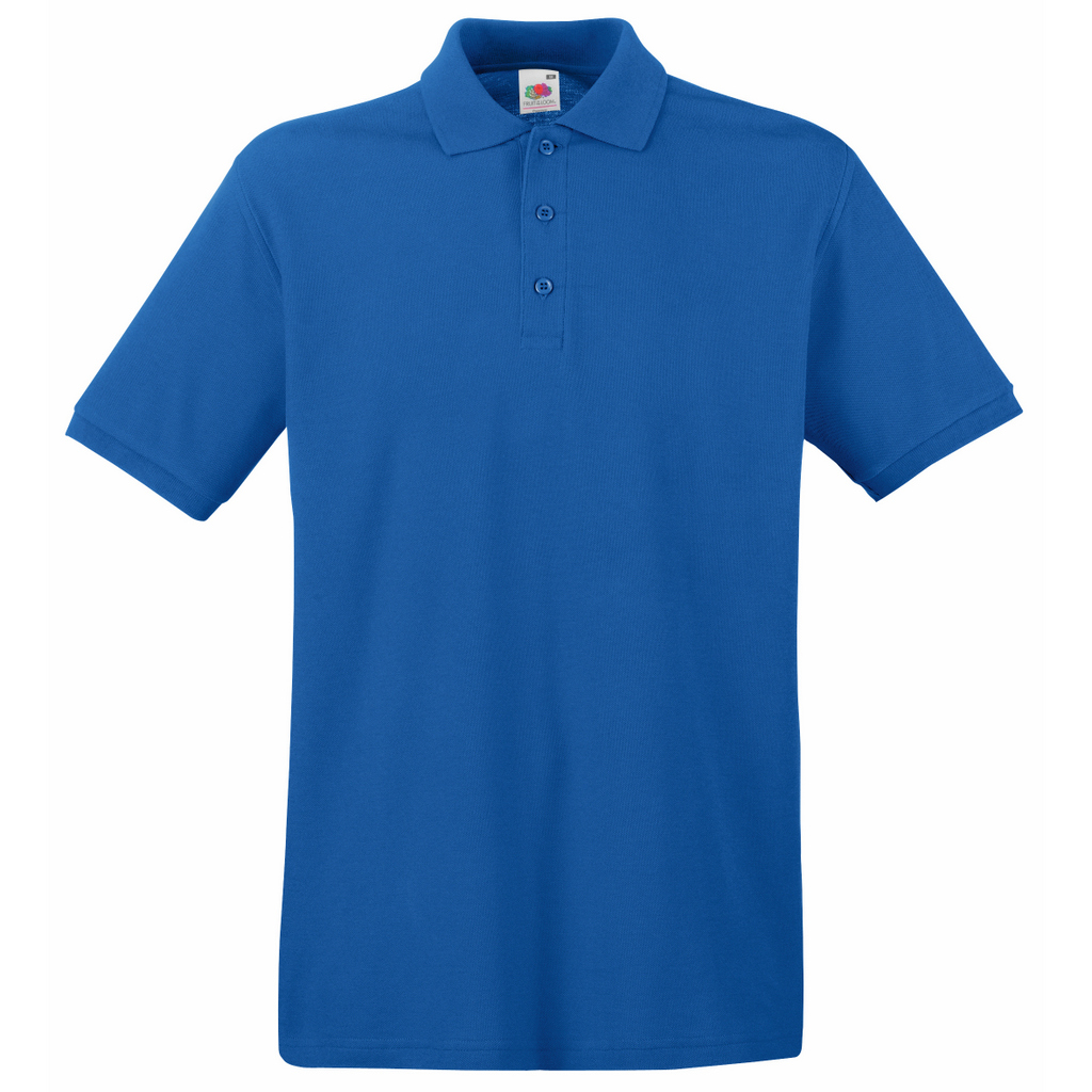 SS5 Fruit of the Loom Premium Cotton Pique Polo Shirt
