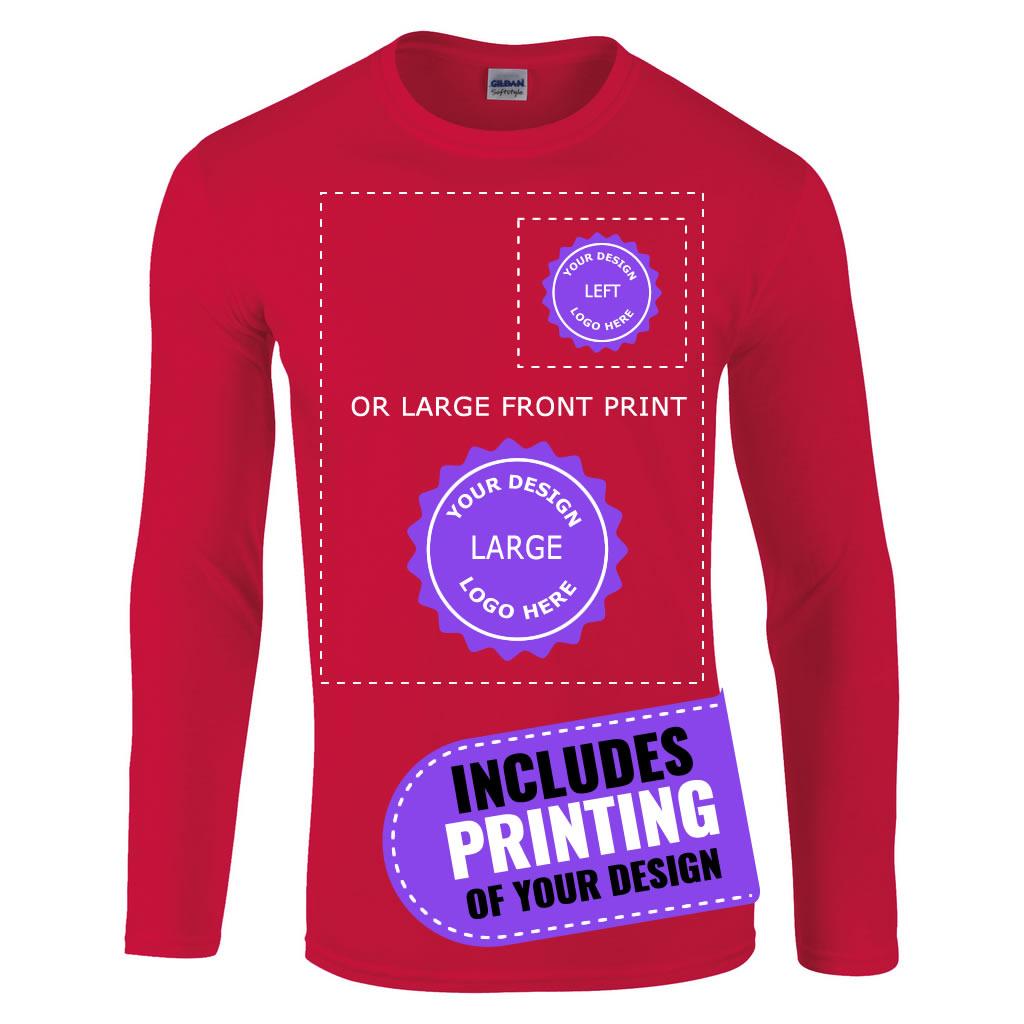 Cheap T Shirt Printing Gildan Rldm