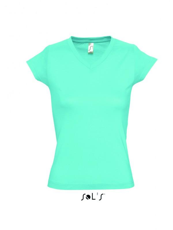 11388 Sol'S Ladies Moon V Neck T-Shirt