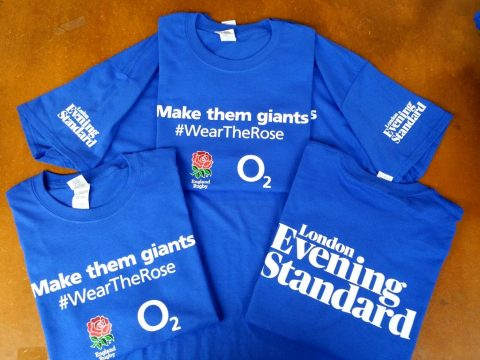 Evening Standard, Wear The Rose Make Them Giants
