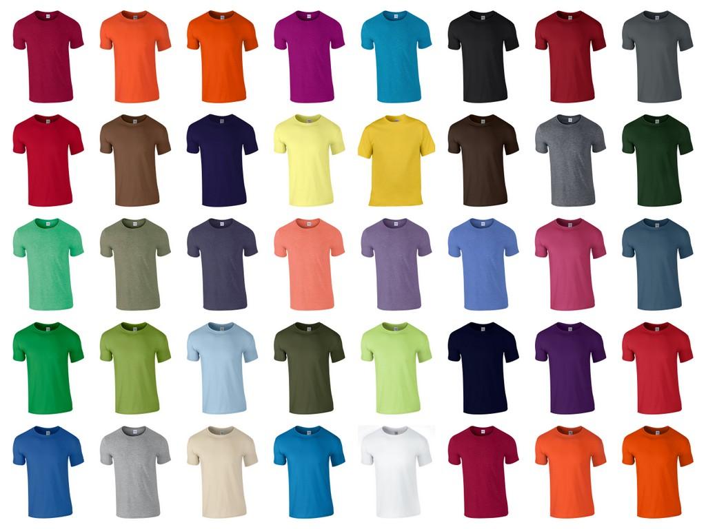 GD01 - Plain - Gildan Soft Style T-Shirt