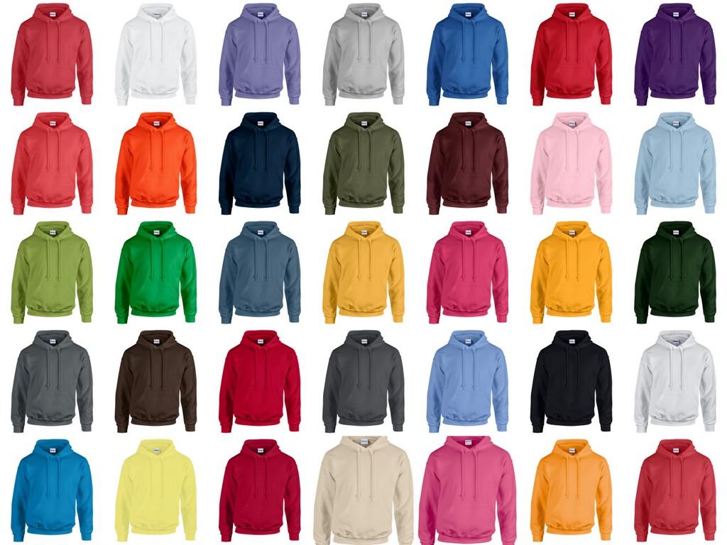 GD57 Gildan Heavy Blend Hooded Sweatshirt Printed