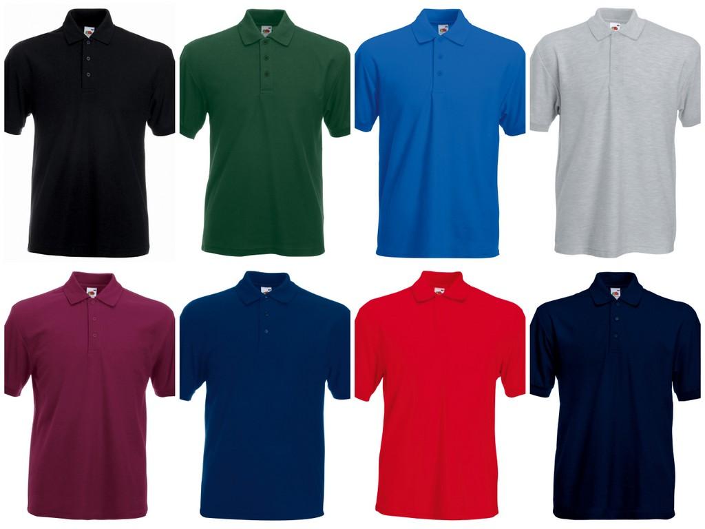 fab1db4ee3e Polo T Shirt Polo Shirt Fruit Of The Loom | Azərbaycan Dillər ...