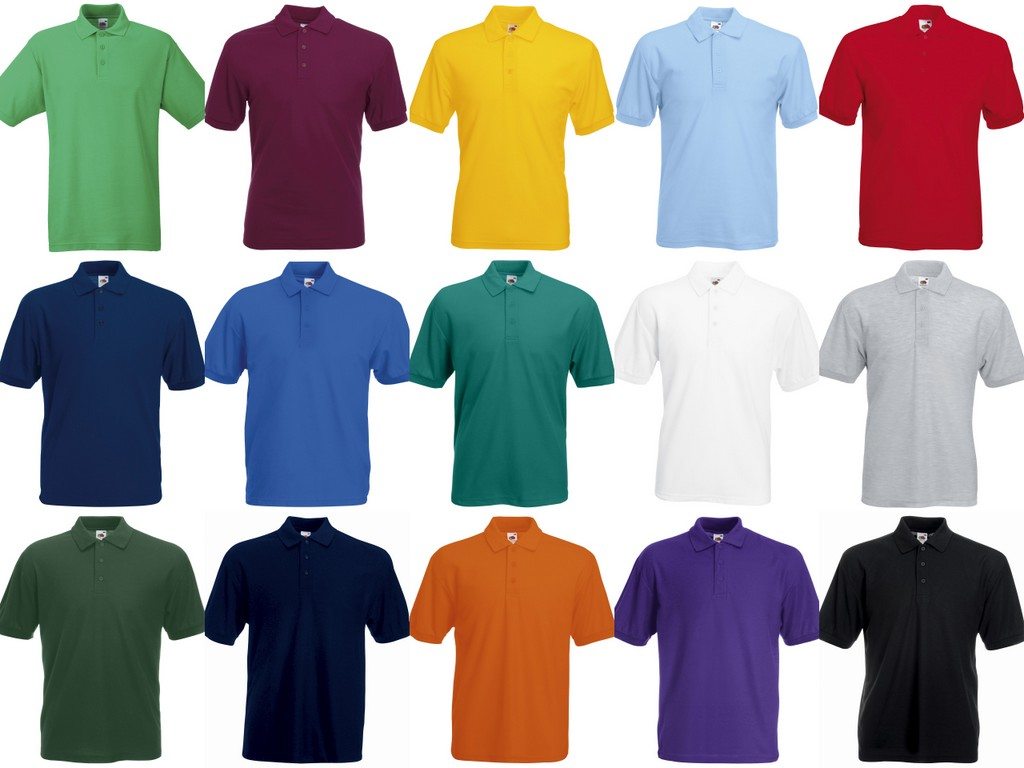 SS11 Fruit of the Loom PolyCotton Pique Polo Shirt