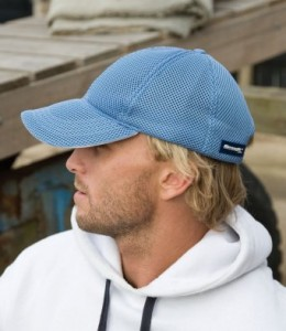 RC053-E Result Sport Foam Mesh Cap - Embroidered