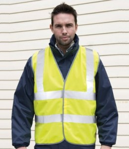 RS201M-P Result Core Hi-Vis Motorway Vest - Printed
