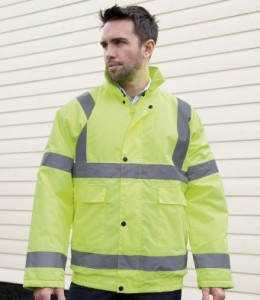 RS217-E Result Core Hi-Vis Winter Blouson Jacket - Embroidered