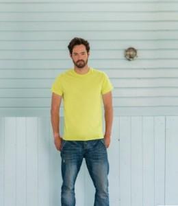 155M Russell Lightweight Slim T-Shirt