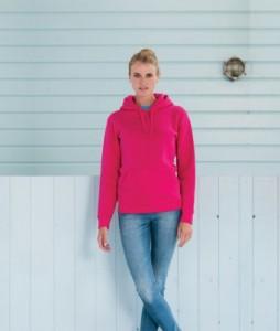 265F Russell Ladies Authentic Hooded Sweatshirt Print