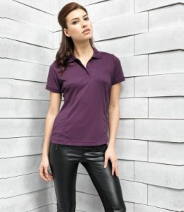 PR616 Ladies Coolchecker®  Pique Polo Shirt Printed