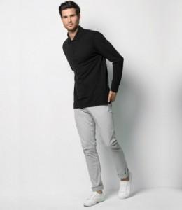 K430 Kustom Kit Long Sleeve Poly/Cotton Pique Polo Shirt
