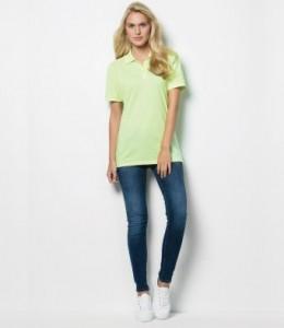 K703 Kustom Kit Ladies Klassic Pique Polo Shirt