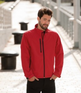 140M-E Russell Soft Shell Jacket - Embroidered