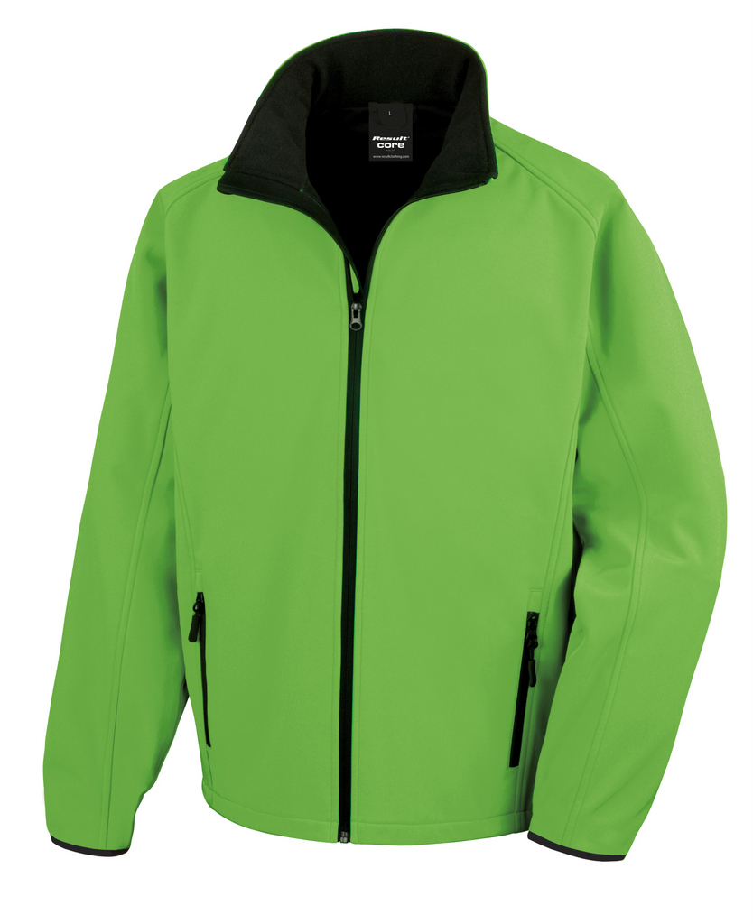 photo about Printable Jacket called RS231M Outcome Main Printable Tender S Jacket - PB Leisurewear