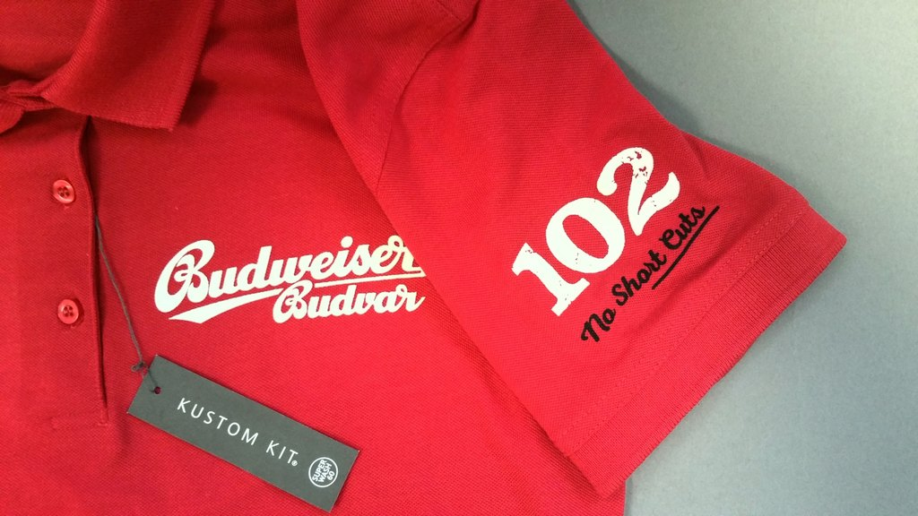 Bud Polo Front + Sleeve