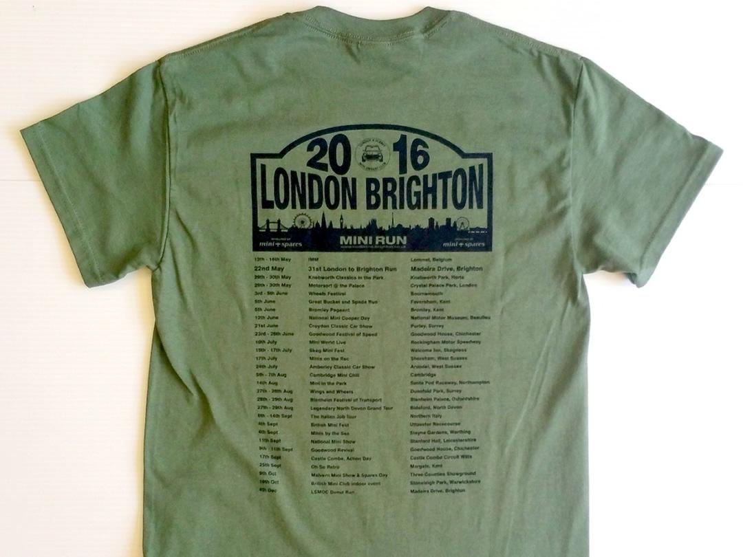 London To Brighton Green Back