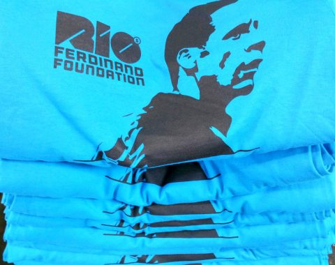RIO FERDINAND FOUNDATION (printed T-shirts)